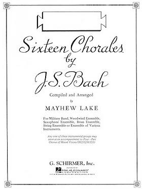 【弦樂團】巴赫十六首聖詠/Sixteen Chorales by J.S. Bach
