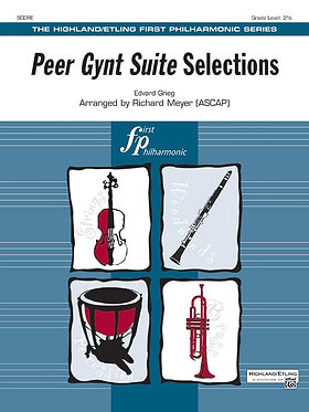 【管弦樂團】Peer Gynt 組曲精選 Peer Gynt Suite Selections