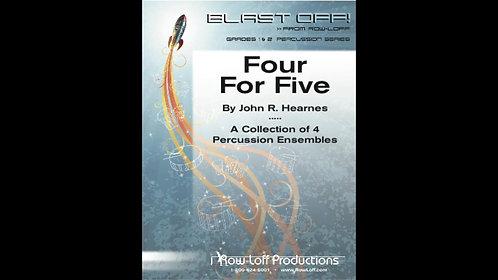 【室內打擊樂】四比五 Four For Five