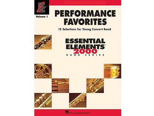 Performance Favorites – 上低音薩克斯風