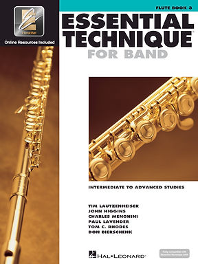 《管樂團基礎能力》 進階練習的預備課程-長笛