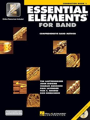 管樂團基礎素材 ESSENTIAL ELEMENTS FOR BAND BOOK1 - 指揮