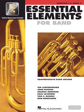 管樂團基礎素材 ESSENTIAL ELEMENTS FOR BAND BOOK 2 -上低音號 T.C.