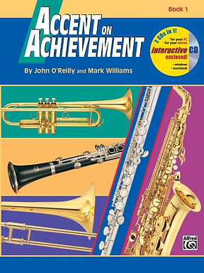 Accent on Achievement, Book 1 - 電貝斯(含CD)