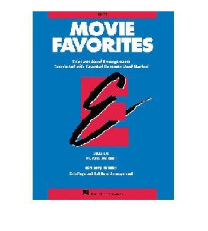 練習曲集 Movie Favorites – 降E調上低音薩克斯風管