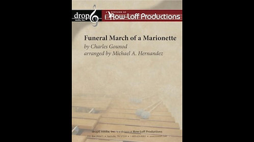 【室內打擊樂】木偶葬禮進行曲 Funeral March of a Marionette