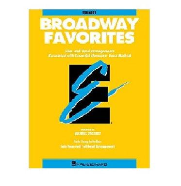練習曲集 Broadway Favorites – 上低音號 (低音譜)