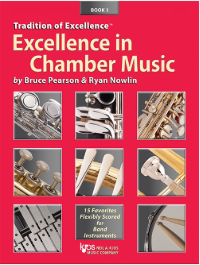 最佳室內樂套譜 Excellence in Chamber Music Book 1- Eb 中音薩克斯風 / Eb 上低音薩克斯風