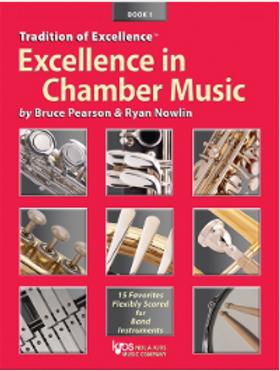 最佳室內樂套譜 Excellence in Chamber Music Book 1 -打擊樂