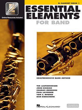 管樂團基礎素材 ESSENTIAL ELEMENTS FOR BAND BOOK1 - Bb單簧管