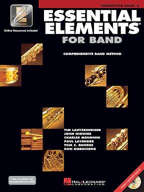 管樂團基礎素材 ESSENTIAL ELEMENTS FOR BAND BOOK 2 - 指揮