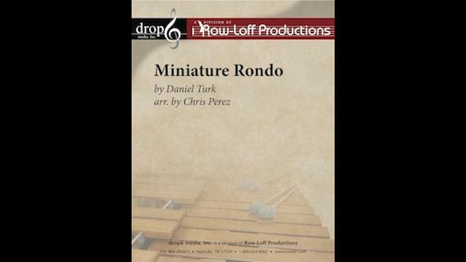 【室內打擊樂】微型迴旋曲 Miniature Rondo