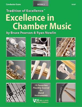 最佳室內樂套譜 Excellence in Chamber Music Book 3 -Eb 中音薩克斯風