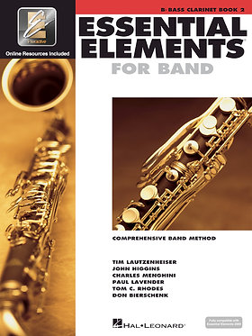 管樂團基礎素材 ESSENTIAL ELEMENTS FOR BAND BOOK 2 - Bb低音單簧管