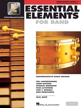 管樂團基礎素材 ESSENTIAL ELEMENTS FOR BAND BOOK 2 - 打擊樂/鍵盤打擊樂