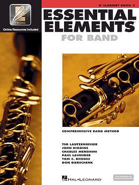 管樂團基礎素材 ESSENTIAL ELEMENTS FOR BAND BOOK 2 - Bb單簧管