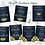 Thumbnail: Navy and Sunflower 7 printable wedding signs 8x10