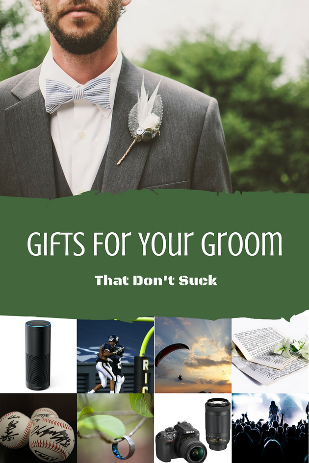 Gifts For Your Groom That Don T Suck Bride2brideblog