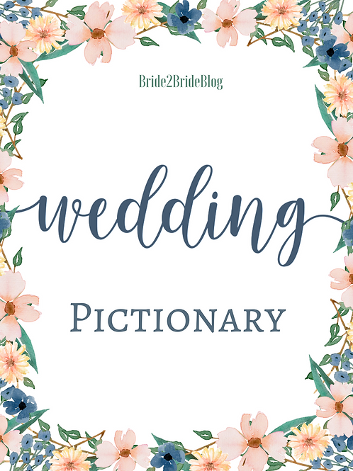 Wedding Pictionary PDF Download