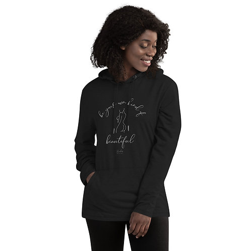 Be Your Own Kind of Beautiful Bum Unisex Lightweight Hoodie