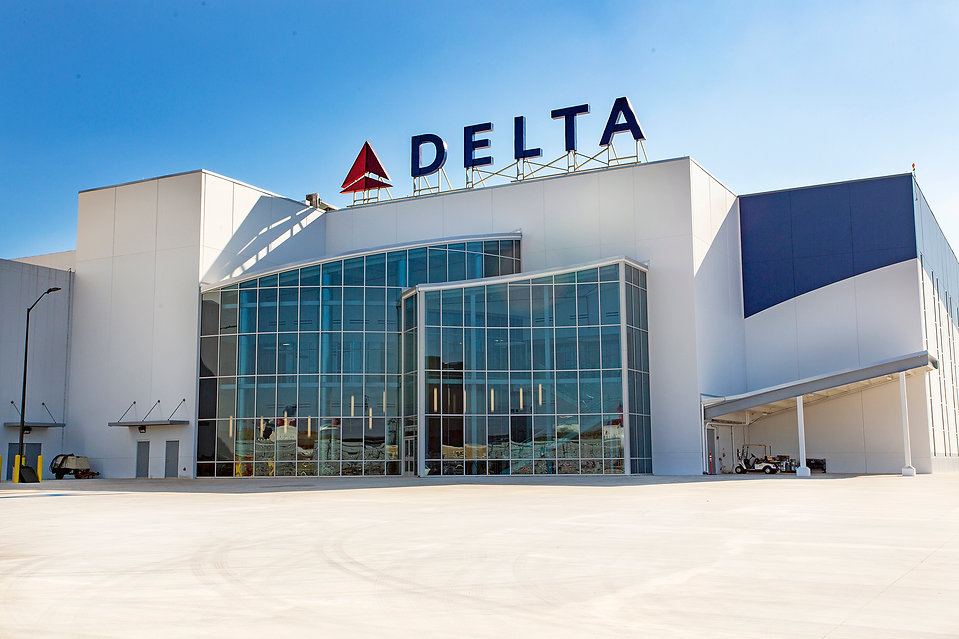 Delta Airlines World's largest engine test cell