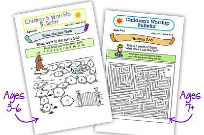 Childrens-Worship-Bulletins-Both-Age Gro