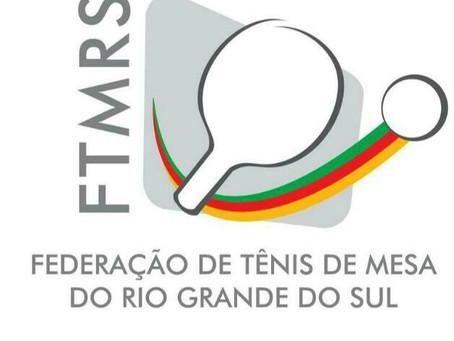 Nota Oficial 001-2021 : Dispõe sobre a convocação de atletas para a seleção gaúcha de tênis de mesa