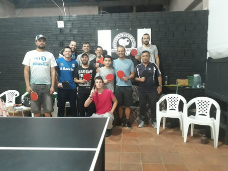Tênis de mesa em Rosário do Sul - RS!