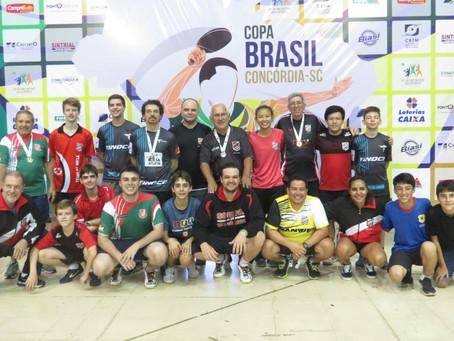 Delegação gaúcha retorna com 14 medalhas de competição nacional