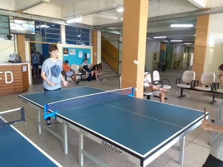 Projetos de tênis de mesa iniciam na UFSM