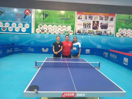 Sogipa participa do Aberto do Paraguai de tênis de mesa