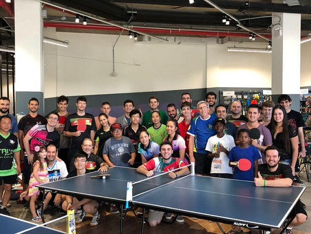 Decathlon e FTMRS promovem o Dia do Tênis de Mesa