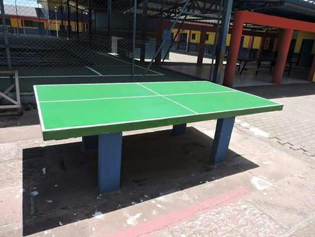 Tênis de mesa vira febre em escola municipal de Parobé!
