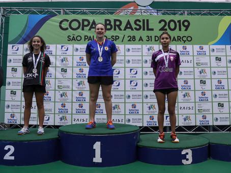 Gaúchos conquistam medalhas na Copa Brasil de tênis de mesa