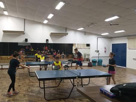 JUGS 2019: tênis de mesa reúne 24 atletas de 5 instituições