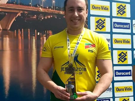 Carlos Rafael Pereira é medalhista do JENAF - 2018