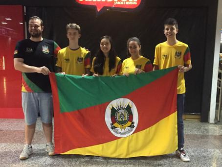 Gaúchos participam dos Jogos Escolares da Juventude