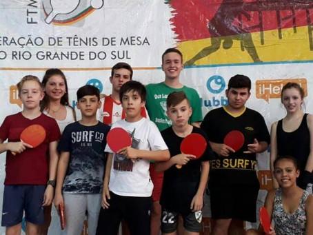 Tênis de mesa em Santo Augusto: estudante de educação física fomenta o esporte na cidade!