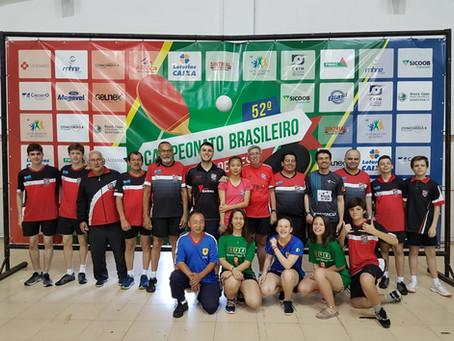 Campeonato Brasileiro de Tênis de Mesa: Gaúchos conquistam resultados históricos!