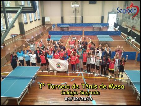 Bento, Canguçu e Decathlon (Nilo Peçanha - Porto Alegre) promovem torneios de tênis de mesa