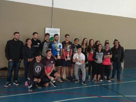 Tênis de mesa faz parte dos JUGs pelo terceiro ano consecutivo