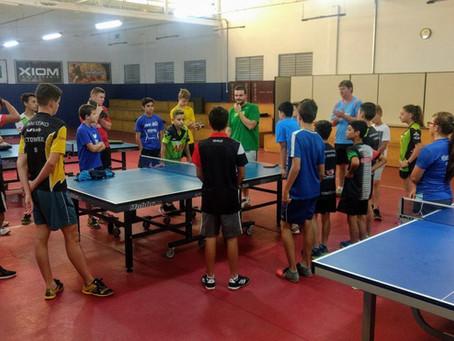 Gaúchos realizam intercâmbio de tênis de mesa em São Bento do Sul (SC)