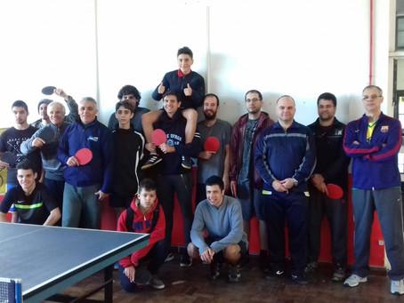 AABB de Canoas promove torneio de tênis de mesa
