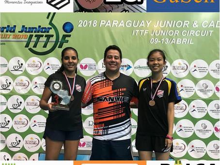 Atletas da Sogipa conquistam medalhas no Aberto do Paraguai