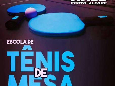 AABB de Porto Alegre oferece aulas de tênis de mesa!