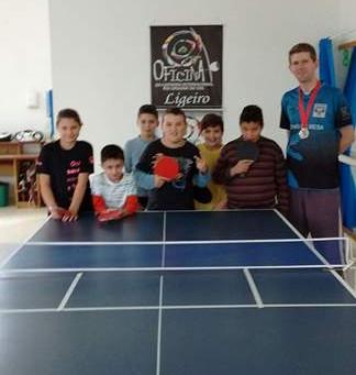 Novo núcleo de tênis de mesa em Vale Real