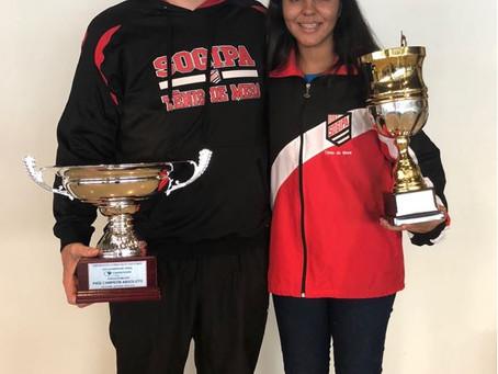Técnico e atleta da Sogipa conquistam vários títulos no Sul-Americano de tênis de mesa