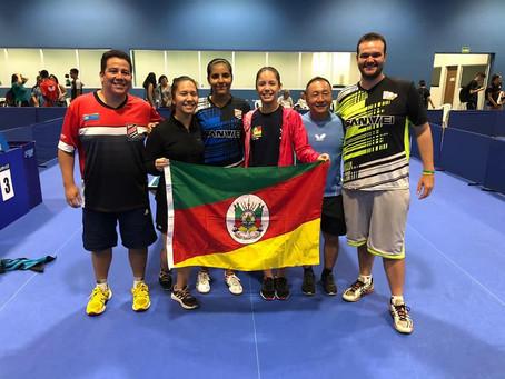 Atletas do RS participam de Seletiva de Jovens em SP. Lívia Lima conquista o primeiro lugar e vaga p