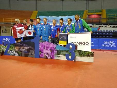 Gaúcho de Caxias do Sul representa a Seleção Brasileira e retorna com medalha!