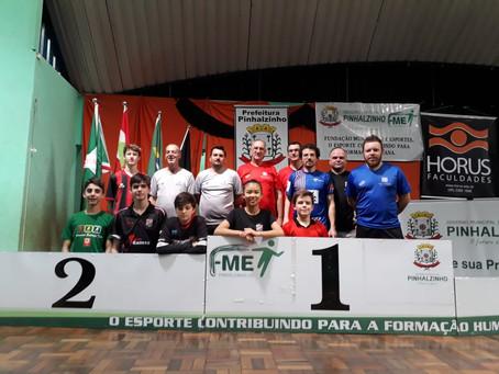 Delegação gaúcha conquista vários títulos em Pinhalzinho - SC